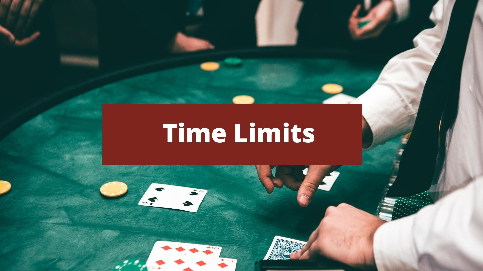 Gamble Responsibly time limits